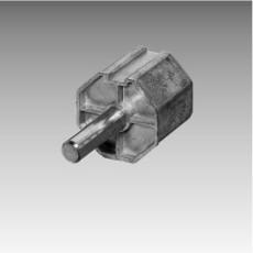 Gurtzuggetriebe - Anschluß für die Stahlwelle 60 mm