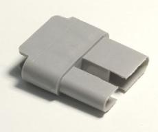 Endstab-Kunststoffgleiter 27,5 x 14 mm VE: 10 Stk.