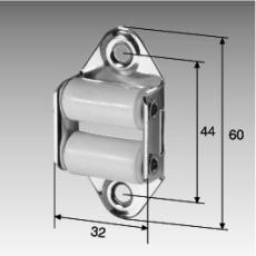 Gurt-Leitrolle, senkrecht, für 23 mm-Gurte