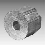 Gurtzuggetriebe - Anschluß für die Stahlwelle 50 mm