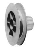 Schnurzugscheibe für Stahlwelle 40 mm, Ø 110 mm